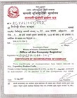 Certified copy of Certificate of incorporation or of business/enterprise registration